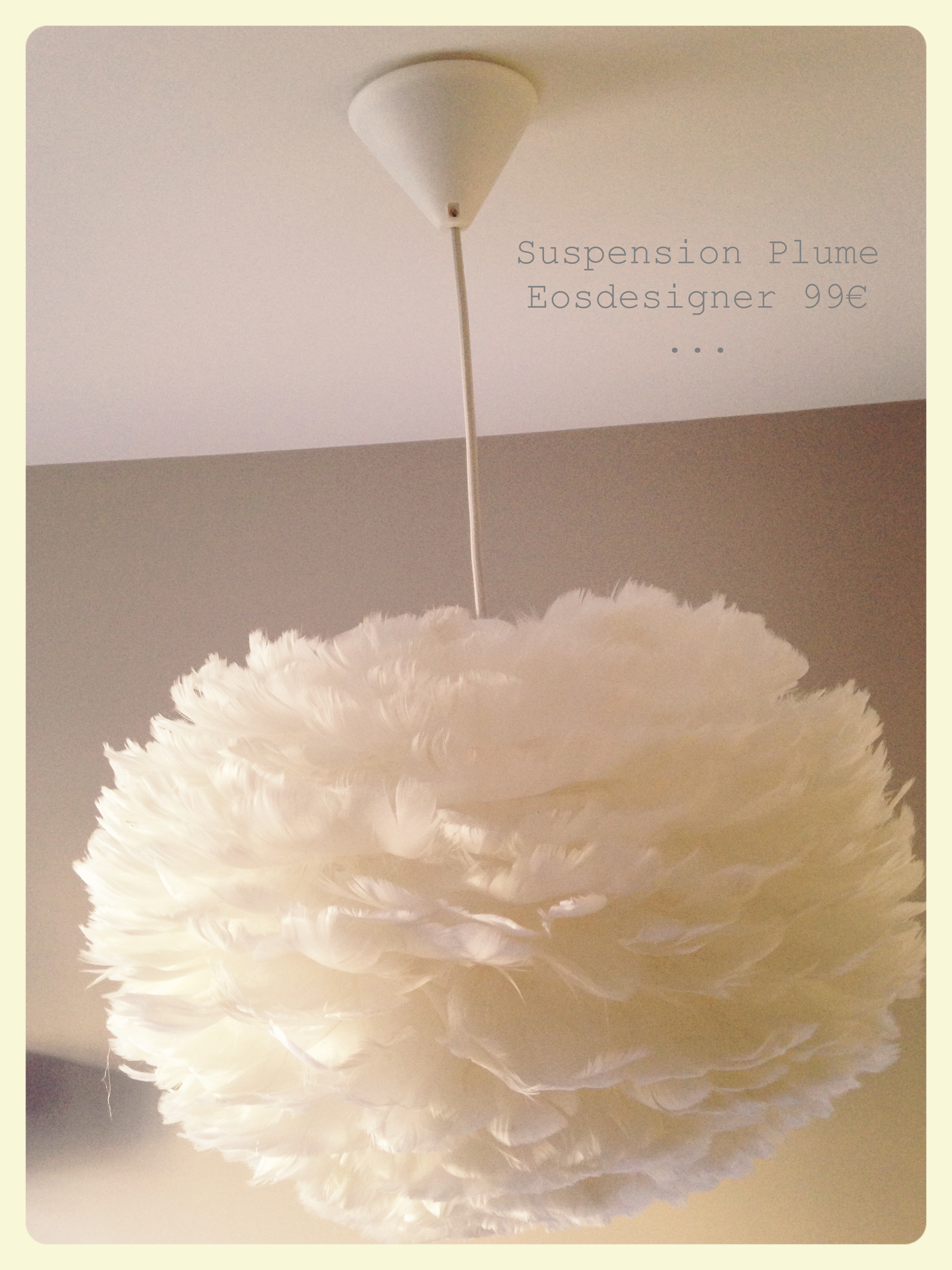 suspension plume. Black Bedroom Furniture Sets. Home Design Ideas