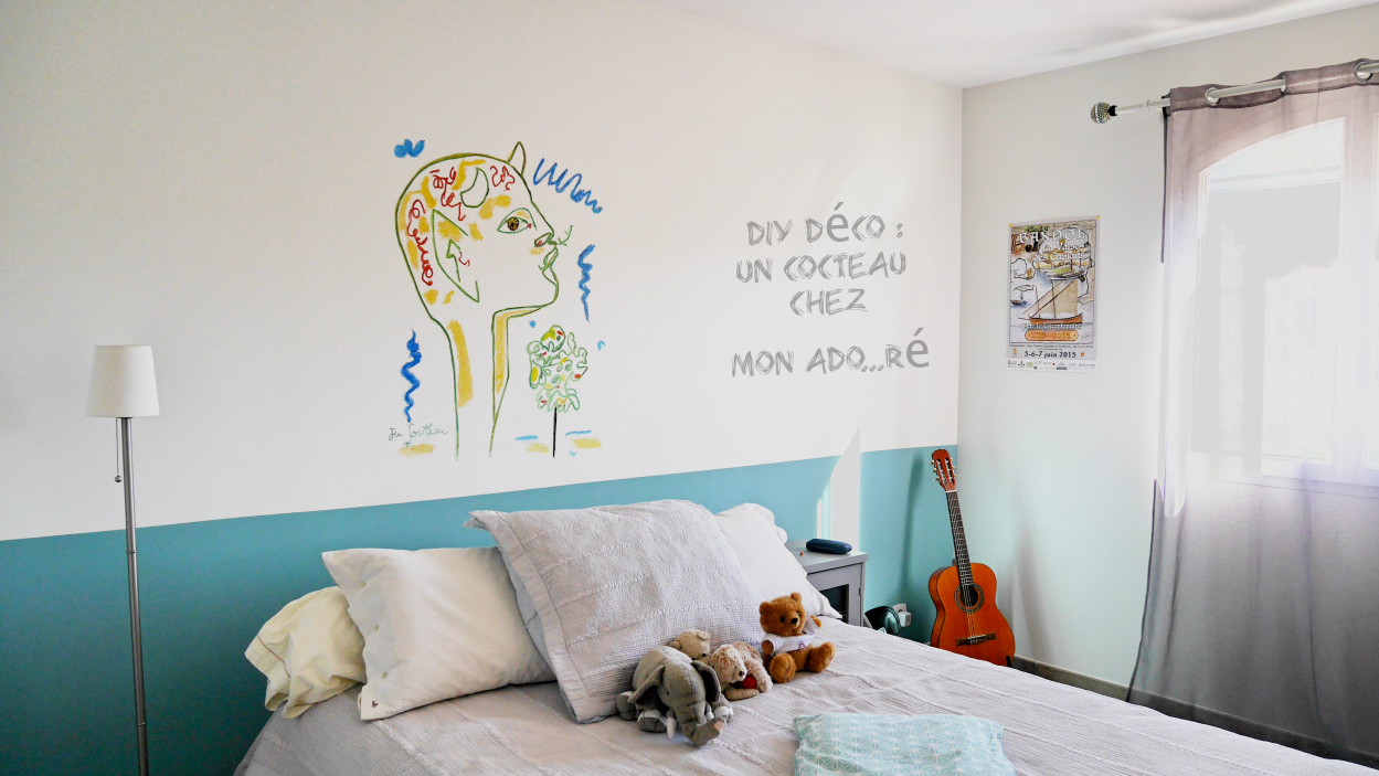 Diy d co chambre d 39 ado rose philange - Reactie decorer une chambre dado fille ...