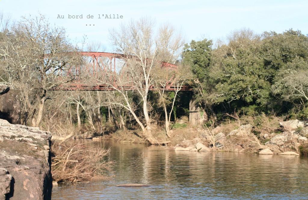 Promenade au pont de l'Aille