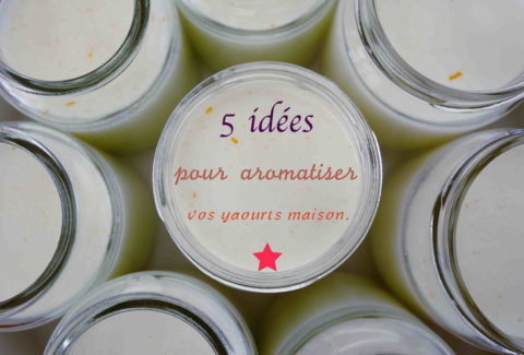 aromatiser les yaourts maison