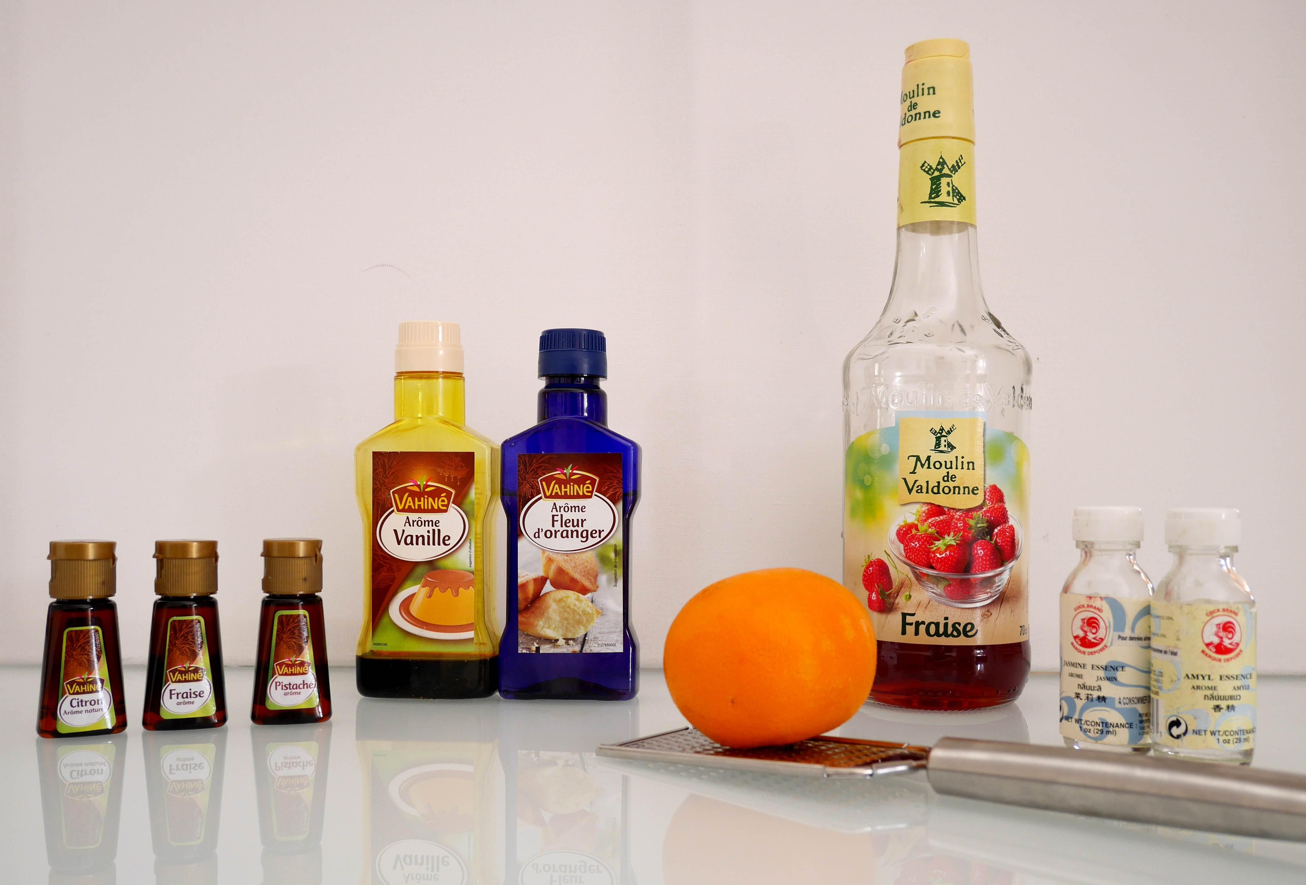 Idées pour parfumer vos yaourts