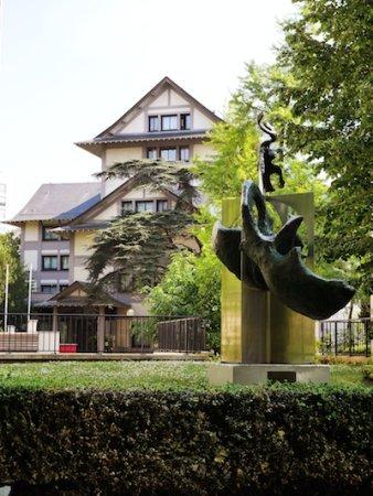 Trottiner en famille à Paris Maison du Japon