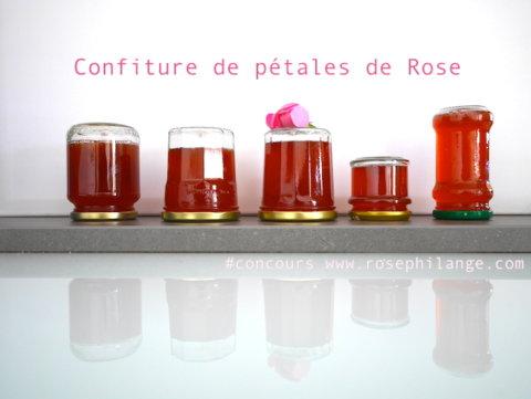 Confiture de pétales de Rose