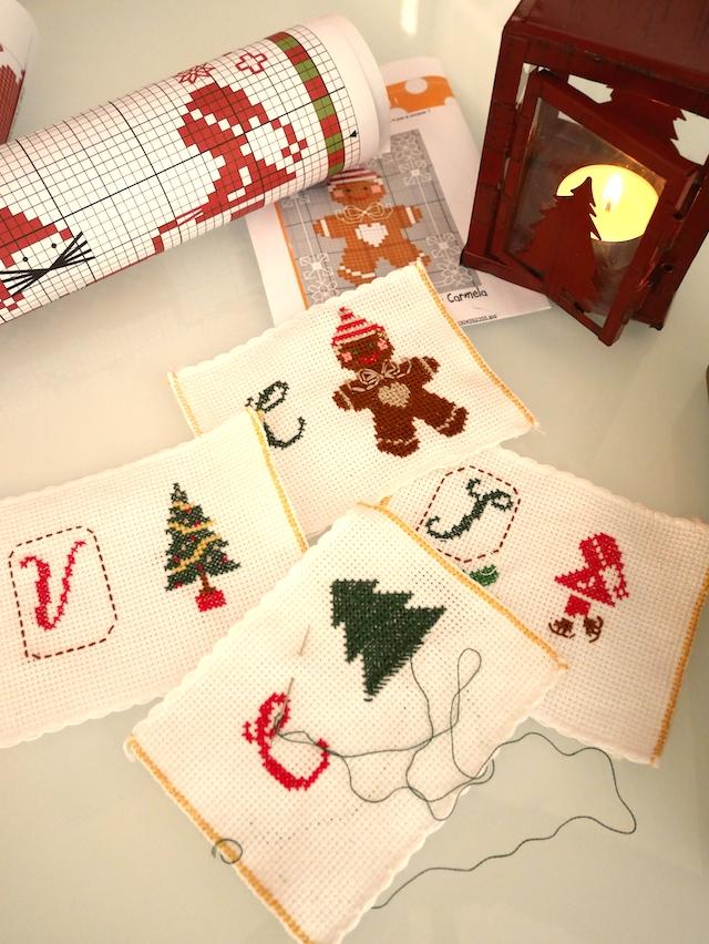 Broderies pour Noël