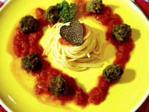 Spaghetti aux Boulettes italienne