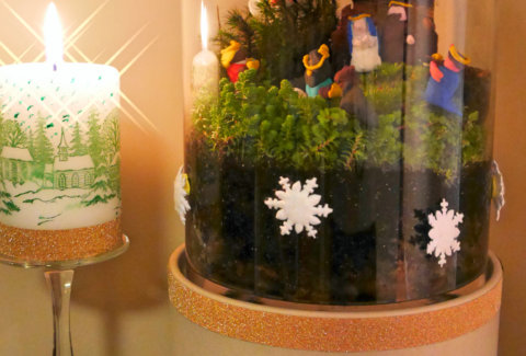 DIY Mini Crèche de Noël