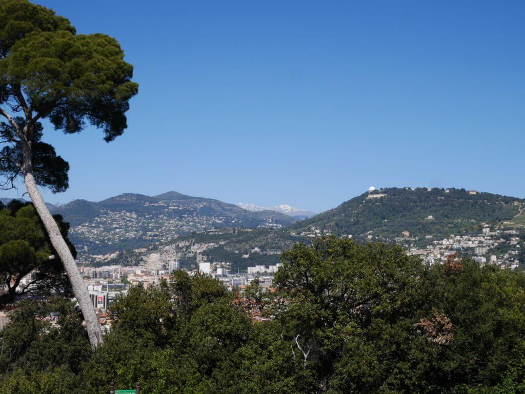 Visiter Nice en un jour le mont Boron